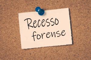 Recesso Forense