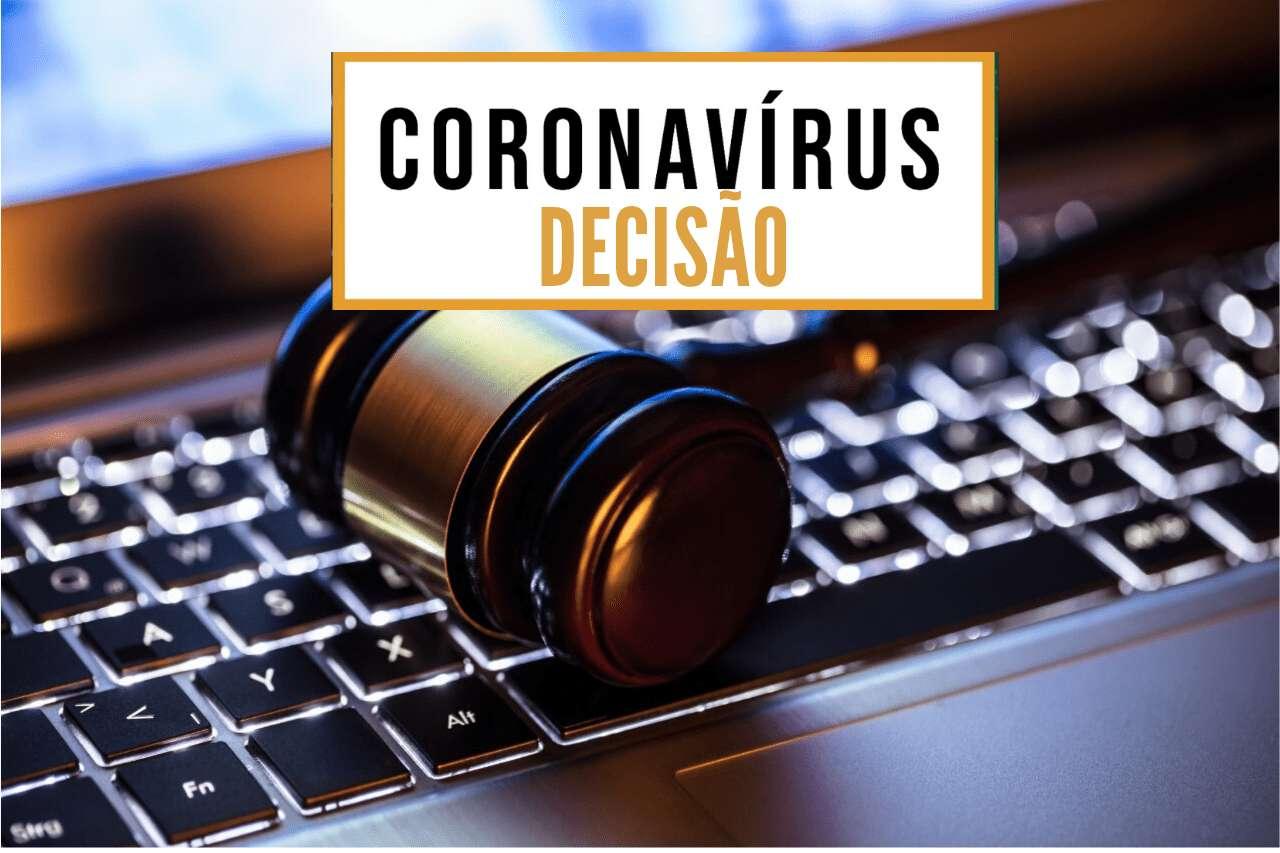 Decisão Coronavírus
