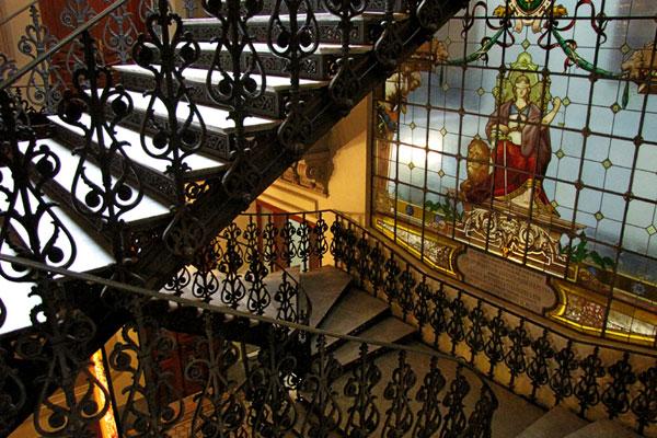 Vitral Escada Ccjf