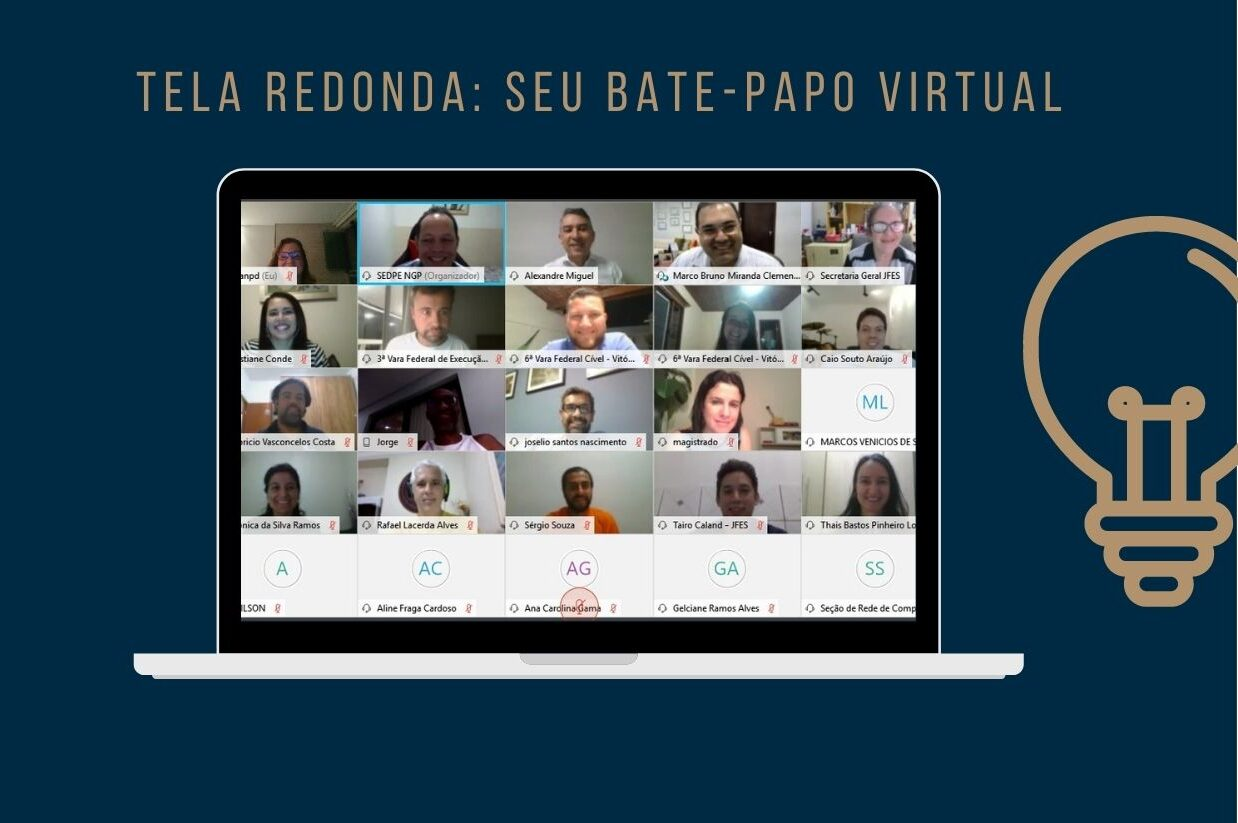 'Visual Law' foi tema de bate-papo virtual com o juiz federal Marco Bruno Miranda Clementino