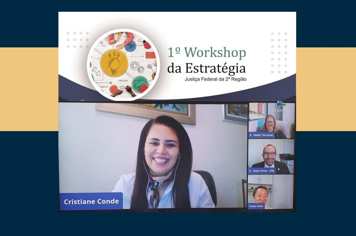 Diretores do Foro do RJ e ES falam na abertura do 1º Workshop da Estratégia da Justiça Federal da 2ª Região