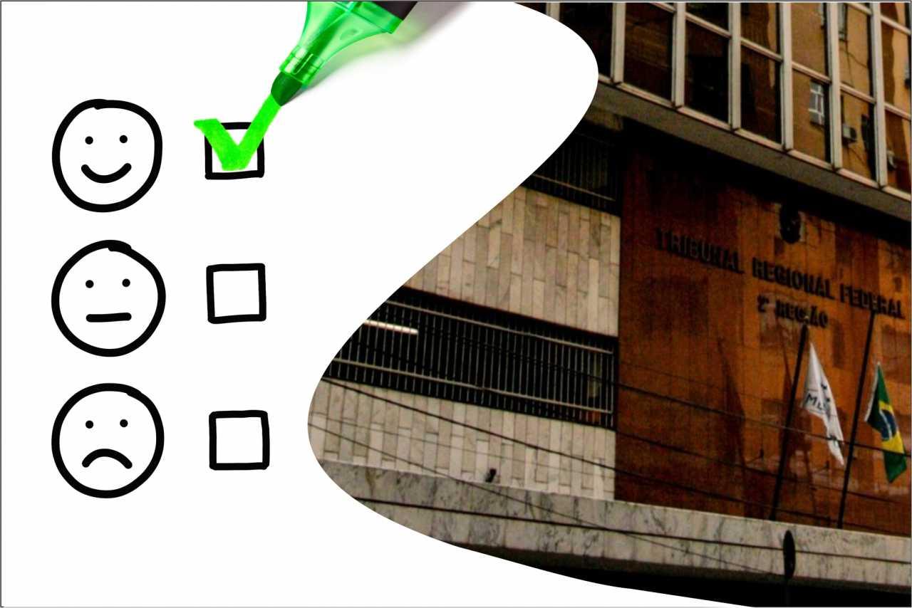TRF2 disponibiliza Pesquisa de Satisfação do Usuário da Justiça Federal da 2ª Região. Participe até 14/6*