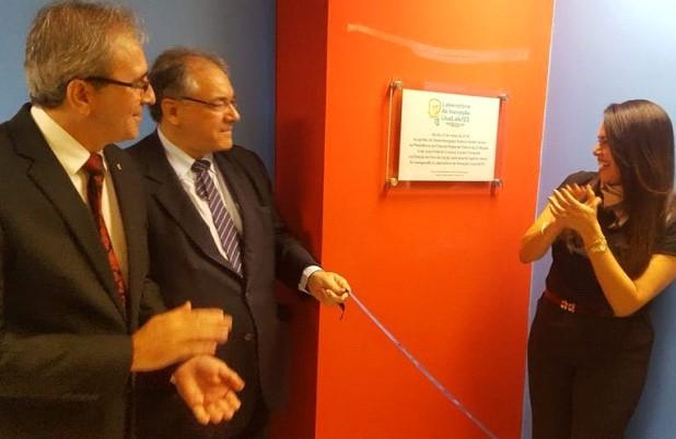 Inauguração do Laboratório em 2018