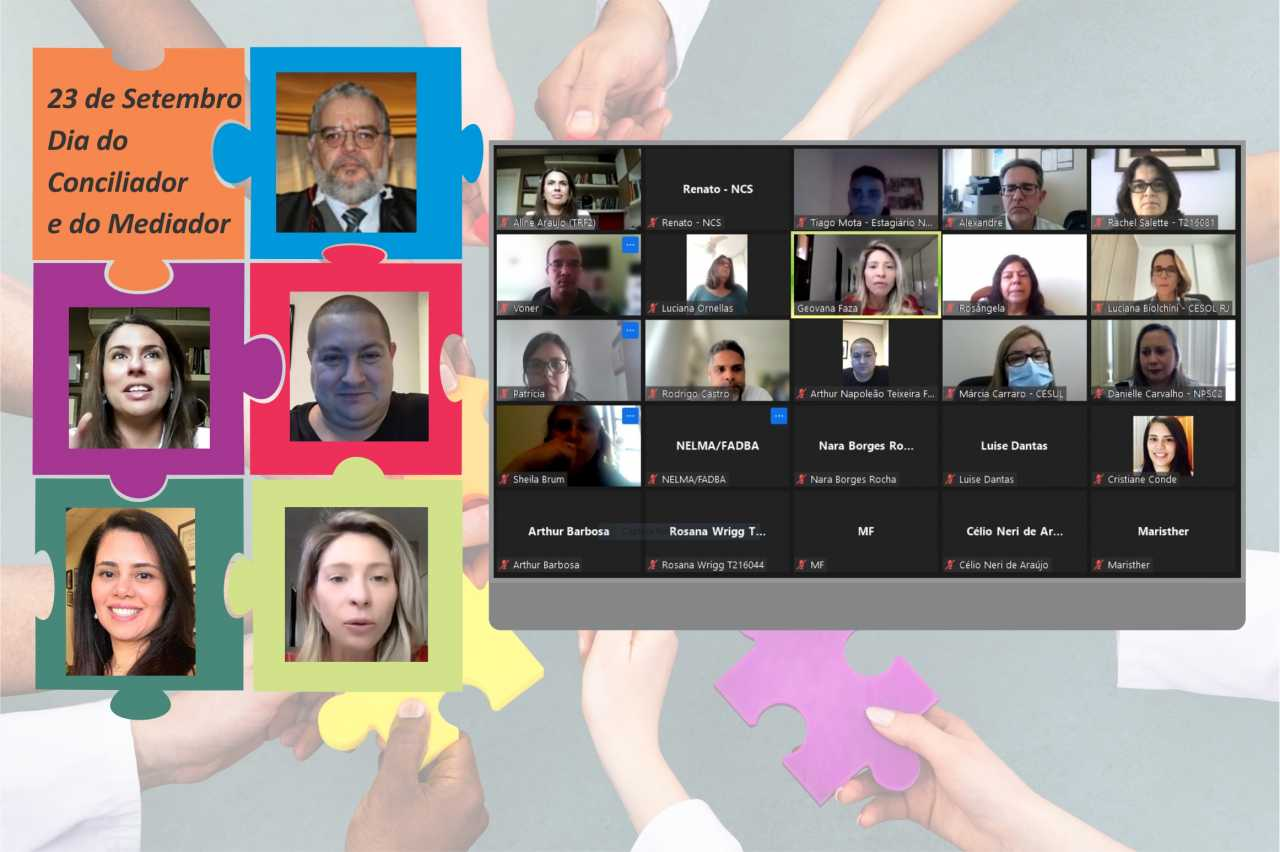 NPSC2 promove painel em comemoração ao Dia do Conciliador e Mediador*