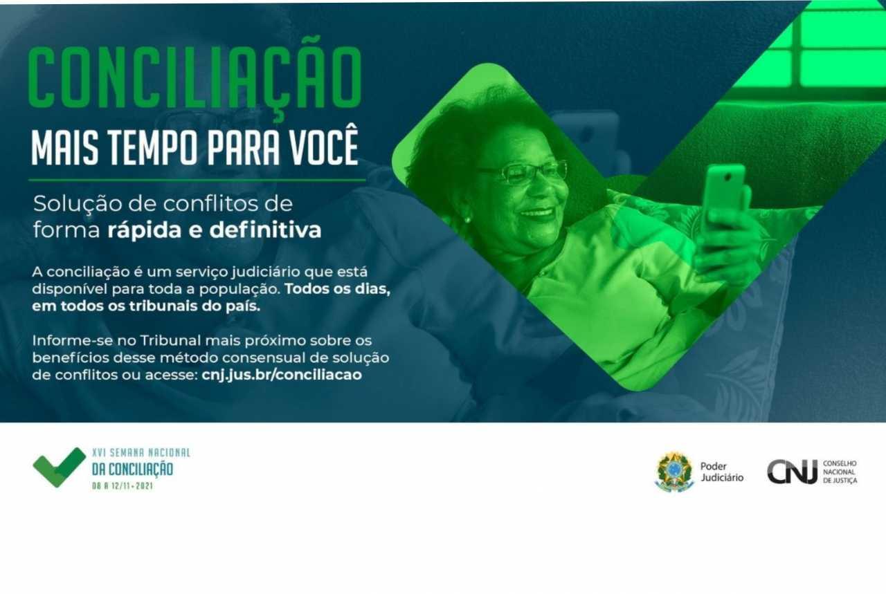 2ª Região participa da XVI Semana Nacional de Conciliação em novembro*
